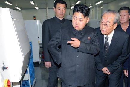 Kim Jung-un, un fils du leader nord-coréen Kim... (Photo: Reuters)