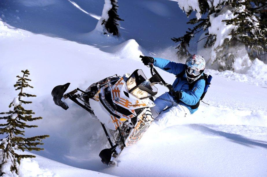 Ski-Doo remanie ses modèles de montagne Free Ride. (Photo Ski-Doo)