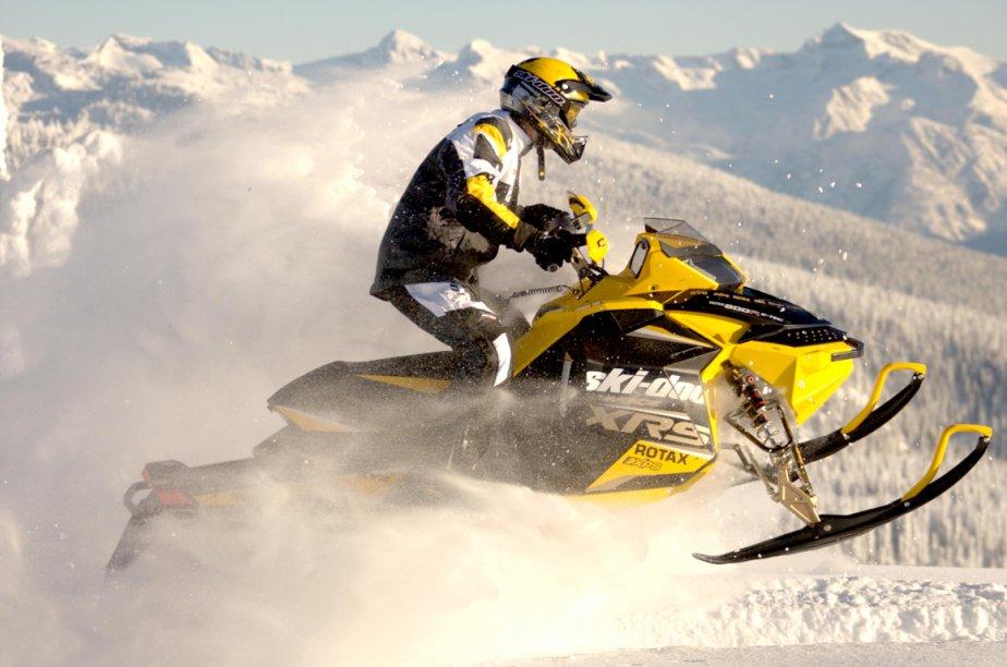 La Ski-Doo MX Z X-RS est équipée d'une nouvelle suspension rMotion. (Photo Ski-Doo)