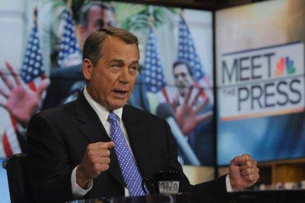 Le président de la Chambre, le républicain John... (Photo: Reuters)