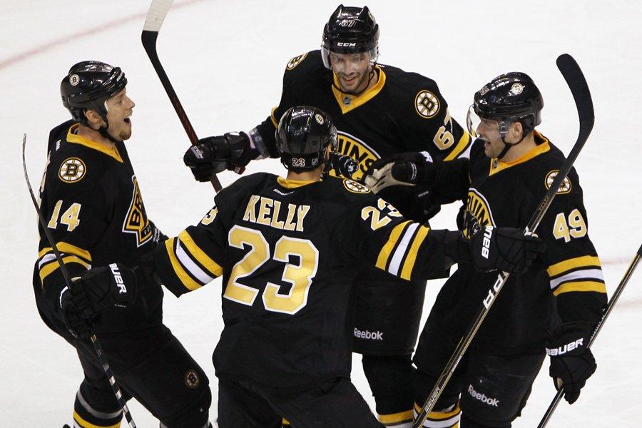 Les Bruins de Boston ont remporté 19 de... (Photo: Reuters)