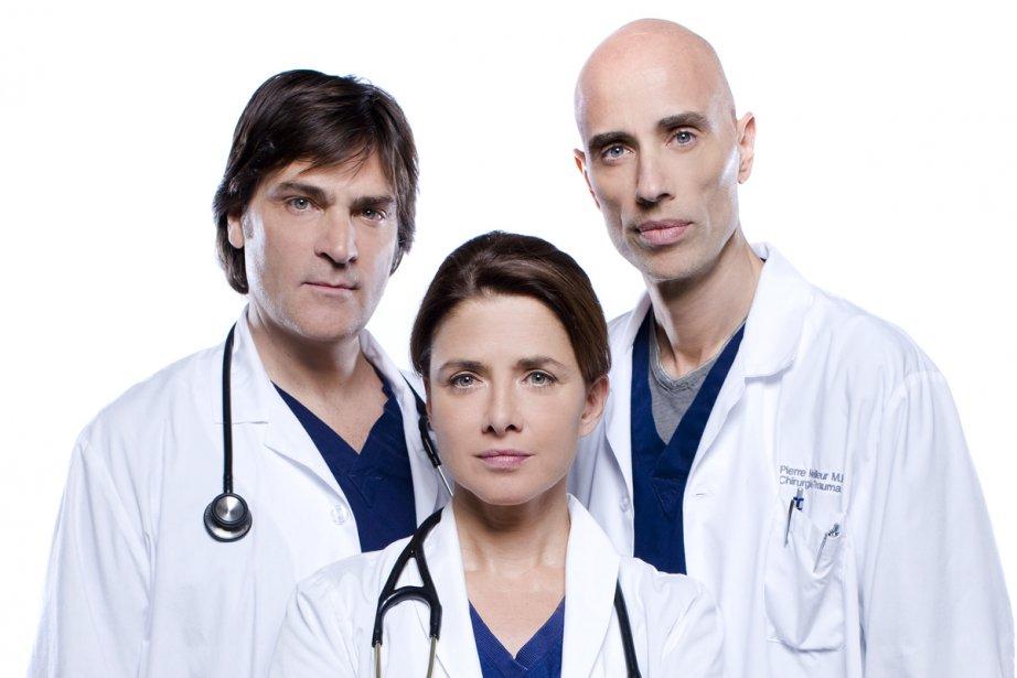 Le portrait négatif du médecin de famille dans... (Photo fournie par Radio-Canada)