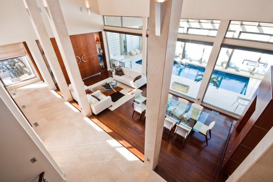 Immobilier de prestige cyberpresse for Plus grande maison au monde