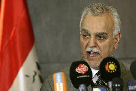 Tarek al-Hachémi... (Photo: Reuters)