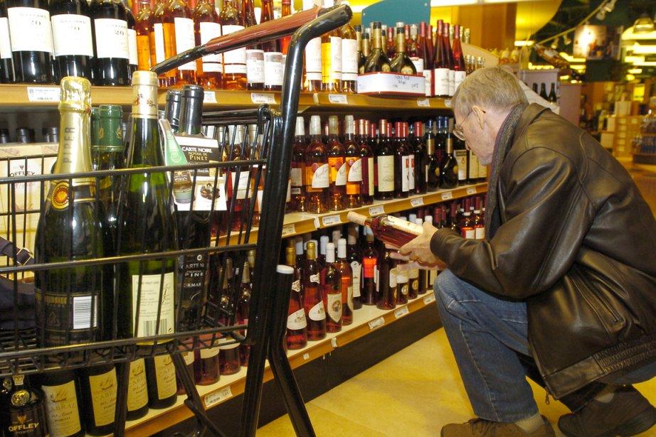 Les amateurs de vin du Québec... (Photo: Robert Mailloux, archives La Presse)