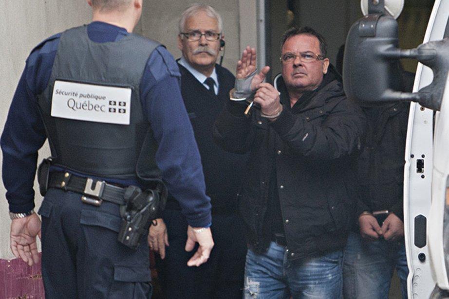 Raynald Desjardins est accusé du meurtre de Salvatore... (Photo: François Roy, La Presse)