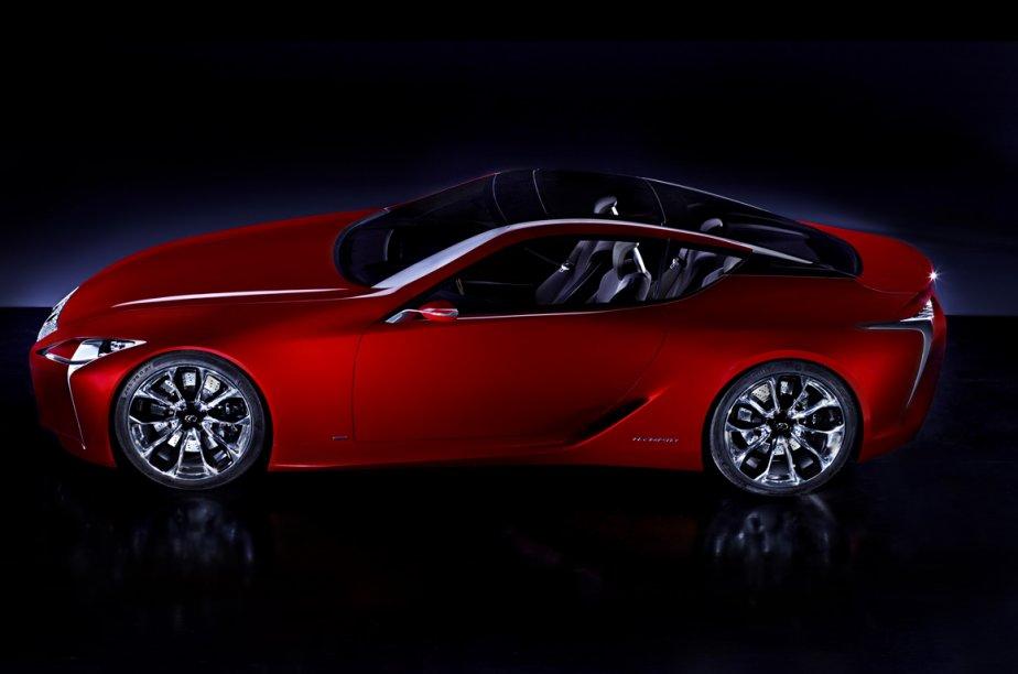 Le prototype Lexus LF-LC sera présenté au salon... (Photo fournie par Lexus)