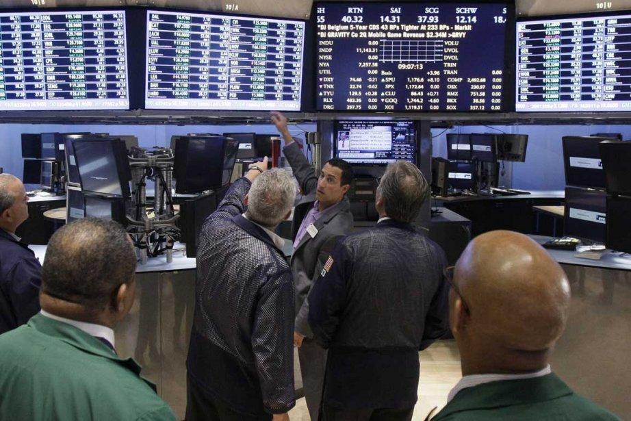 Le parquet de la Bourse de New York.... (Photo reuters)