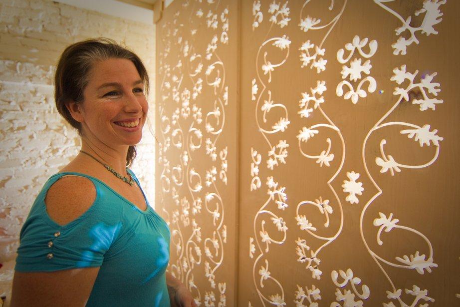 Marie-Ève Désy Gougeon, du spa Espace Nomad... (Photo: André Pichette, La Presse)