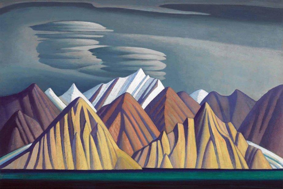 Bylot Island est l'oeuvre de l'artiste canadien Lawren...