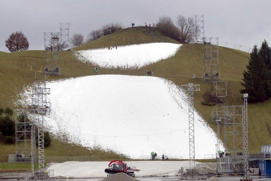 Pas de neige... pas de ski.... (Photo Associated Press)