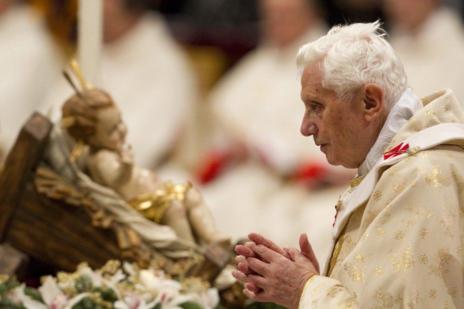 Le pape Benoît XVI.... (Photo: Andrew Medichini, AP)
