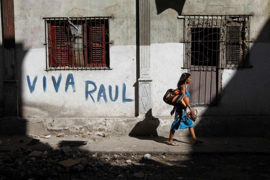 Une rue dans La Havane, la capitale cubaine.... (Photo: ENRIQUE DE LA OSA, Reuters)