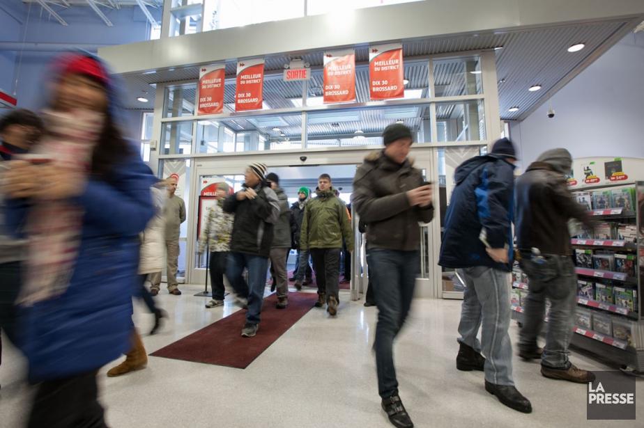 Malgré l'avènement des sites d'achat en ligne et... (Photo: Hugo-Sebastien Aubert, archives La Presse)