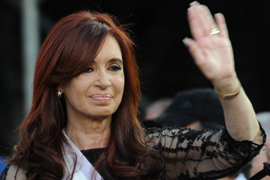 La présidente argentine Cristina Kirchner.... (Photo: Daniel Garcia, AFP)