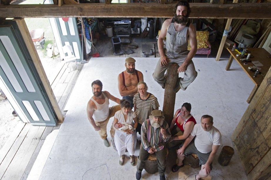 Le Cirque Alfonse a créé Timber dans cette... (Photo: Ivanoh Demers, La Presse)