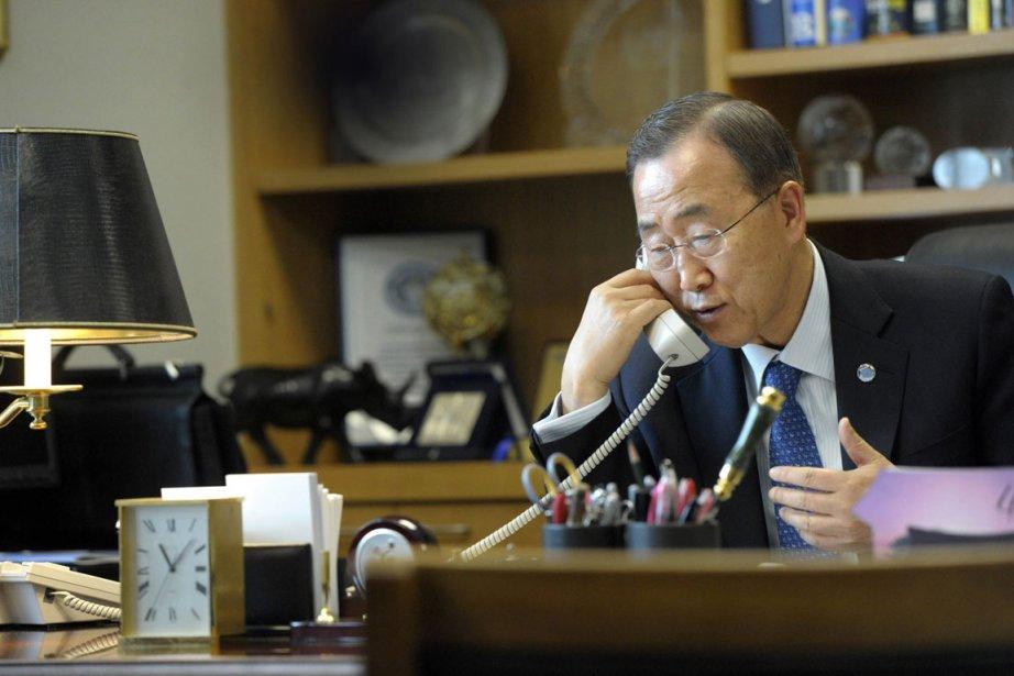 Ban Ki-moon.... (Photo: AP)