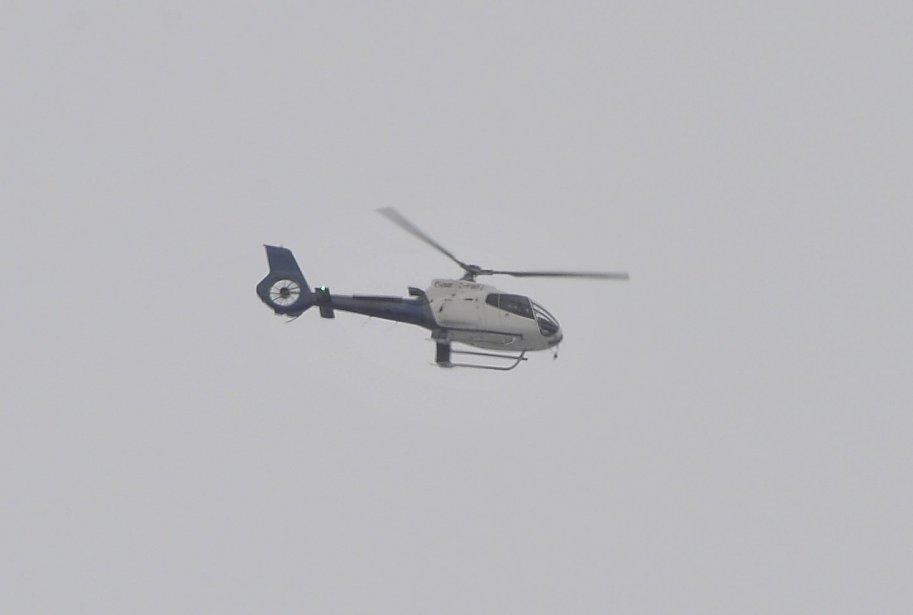 31 DÉCEMBRE Plusieurs hélicoptères ont effectué des allers-retours vers l'usine dans la journée. | 1 janvier 2012