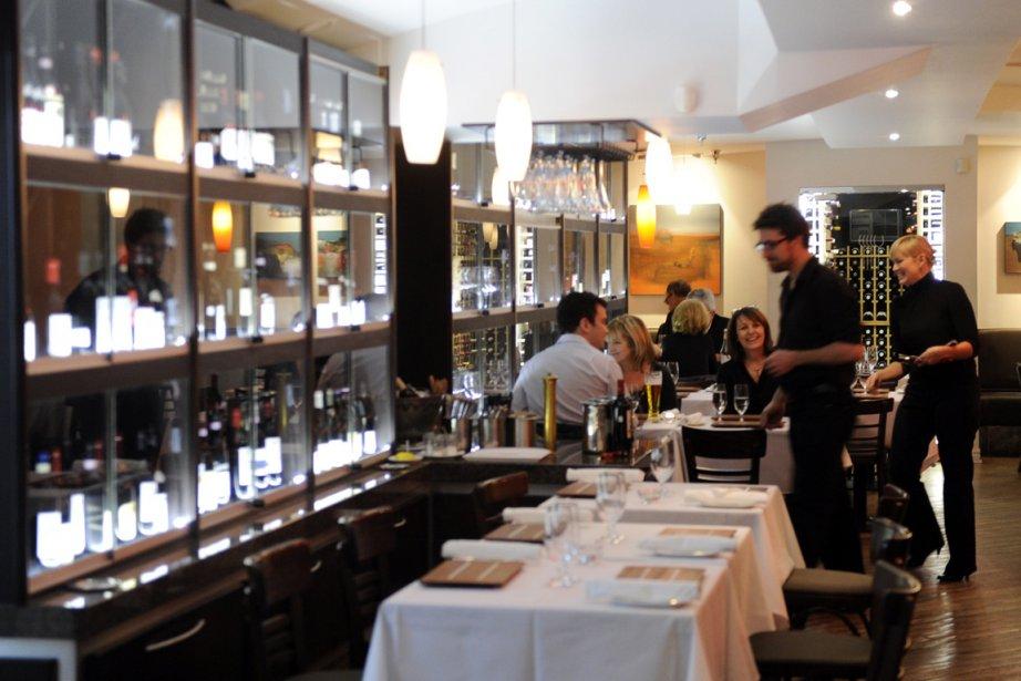 La magie opère au bar à vins Accords.... (Photo Bernard Brault, archives La Presse)