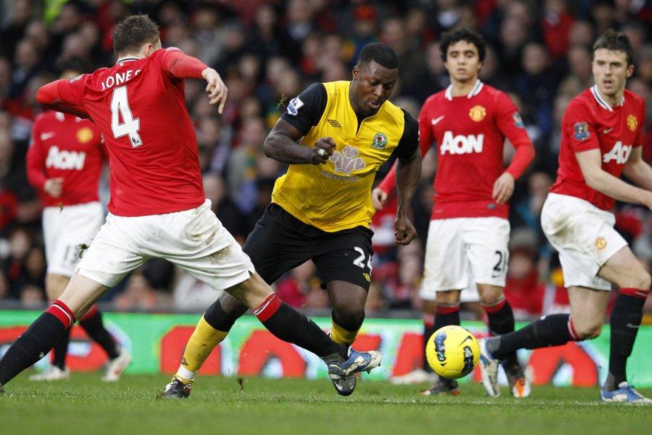 Manchester United a été défait par Blackburn 2... (Photo Phil Noble, Reuters)
