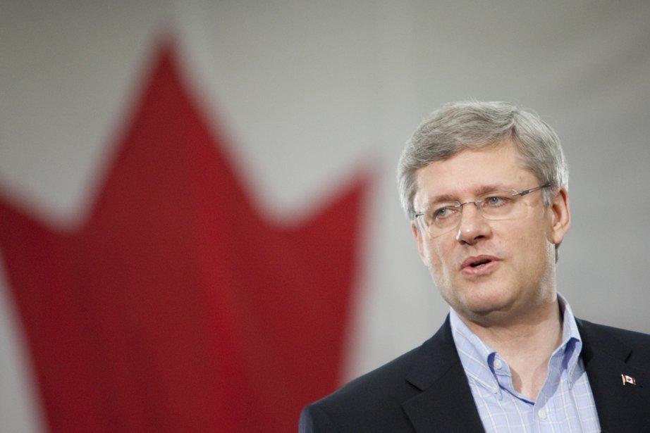 Le premier ministre Stephen Harper.... (Photo: Marco Campanozzi, La Presse)