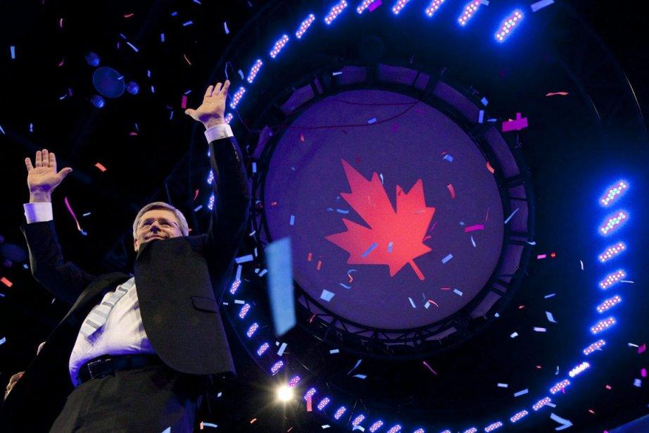Le premier ministre du Canada, Stephen Harper.... (Photo: Jonathan Hayward, PC)