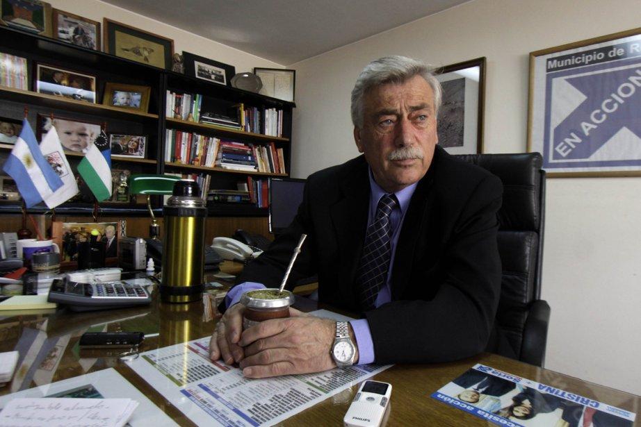 Carlos Soria, un politicien argentin, a succombé dimanche... (Photo: AFP)