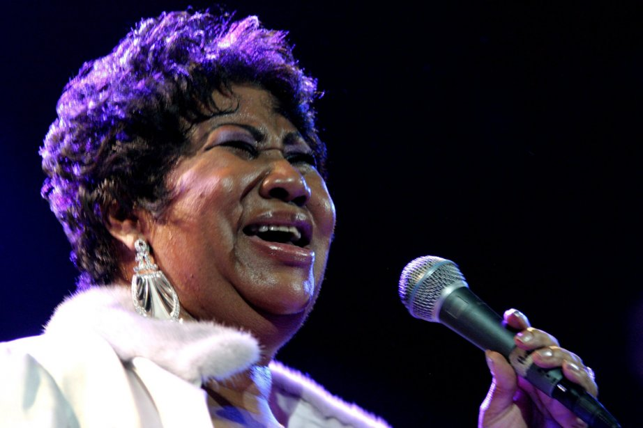 Le légende de la soul Aretha Franklin, 69... (Photo: Archives Associated Press)
