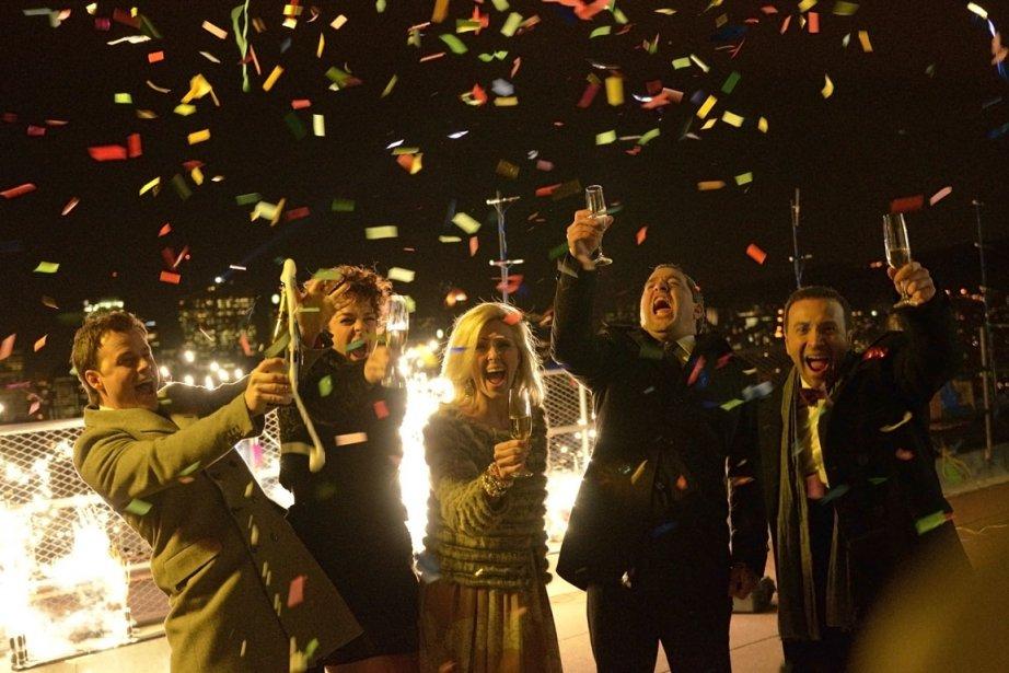 Ce Bye Bye 2011 royal manquait d'équilibre et... (Photo fournie par Radio-Canada)