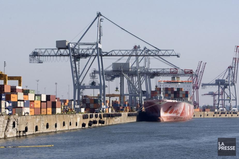 Le port de Montréal.... (Photo: Robert Skinner, Archives La Presse)