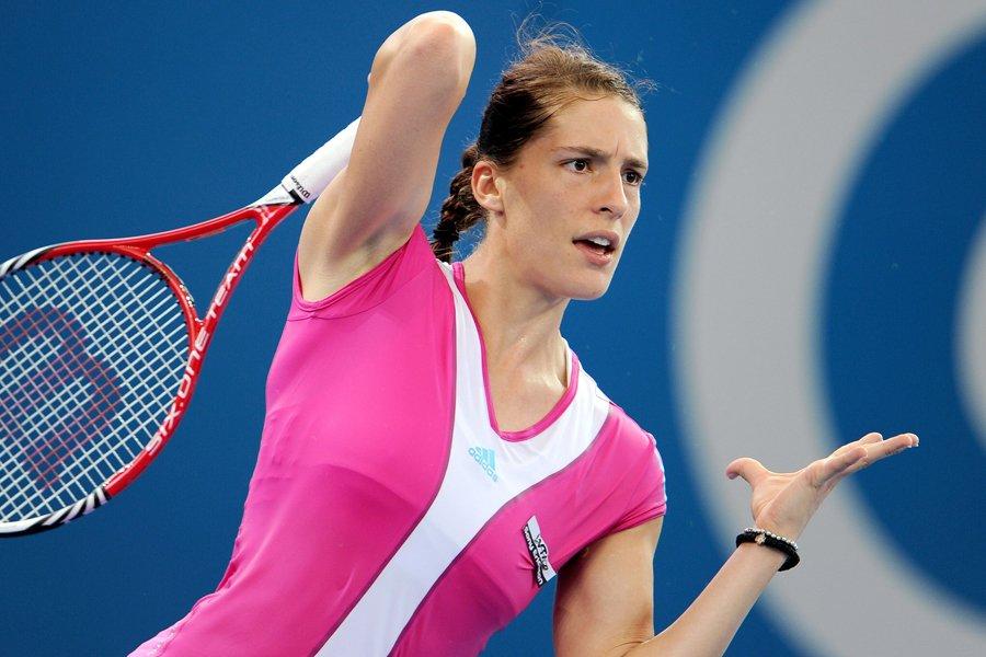 Andrea Petkovic... (Photo: AFP)