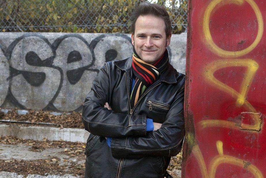 Philippe Desrosiers... (Photo: Robert Skinner, La Presse)