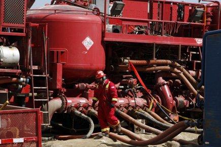 Le pétrole et le gaz de schiste aux États-Unis suscitent un... (Photo: AP)