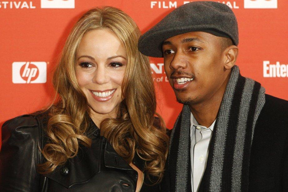 Mariah Carey et Nick Cannon.... (Photo: Lucas Jackson, Reuters)