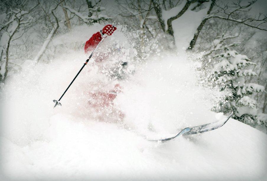 Les pédiatres veulent imposer le casque aux skieurs:... (Bernard Brault, La Presse)