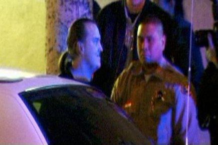 Harry Burkhart, 24 ans, avait été arrêté tôt... (Image: OnScene.tv/AP)