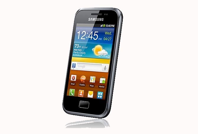 Le Galaxy Ace Plus de Samsung...