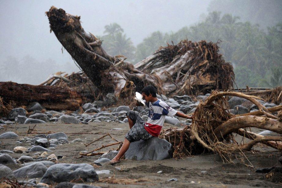 Le sud des Philippines a été frappé les... (Photo: Noel Celis, AFP)
