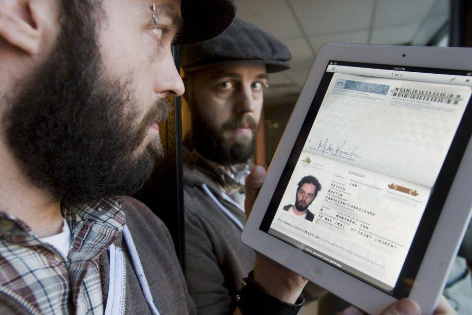 Le Montréalais Martin Reisch dit avoir traversé la... (Photo: PC)