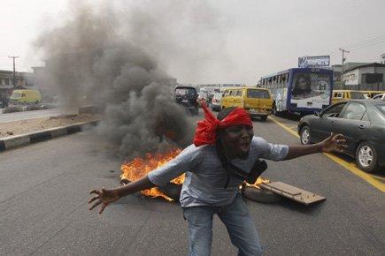 Le président du Nigeria a décrété l'état d'urgence... (Photo: AP)
