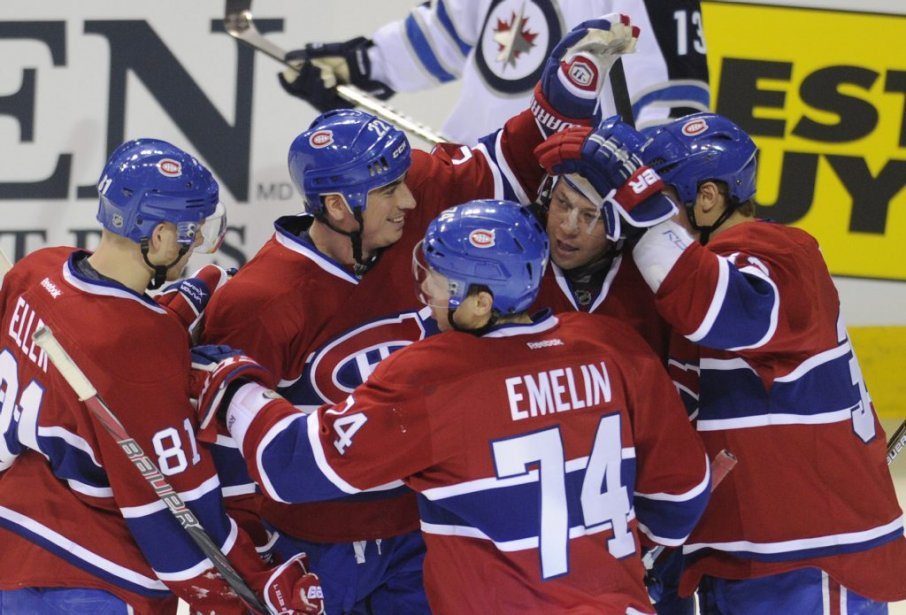 Le Canadien a bien entamé l'année 2012. (Bernard Brault, La Presse)