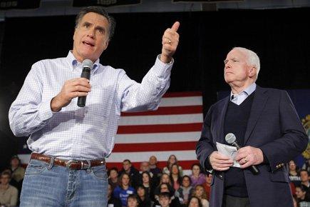 Mitt Romney a obtenu l'appui de son ancien... (Photo: Reuters)