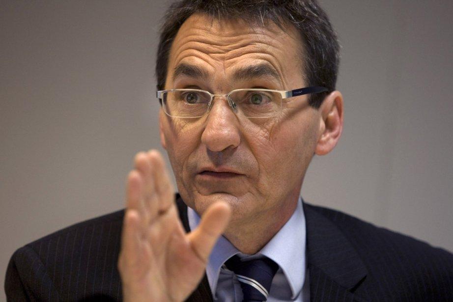 Le chef de Projet Montréal, Richard Bergeron.... (Photo: Robert Skinner, Archives La Presse)