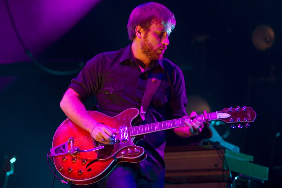 Le chanteur et guitariste de The Black Keys,... (Photo: André Pichette, La Presse)
