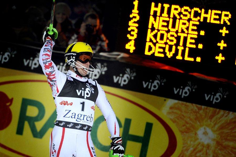 Marcel Hirscher... (Photo: AFP)