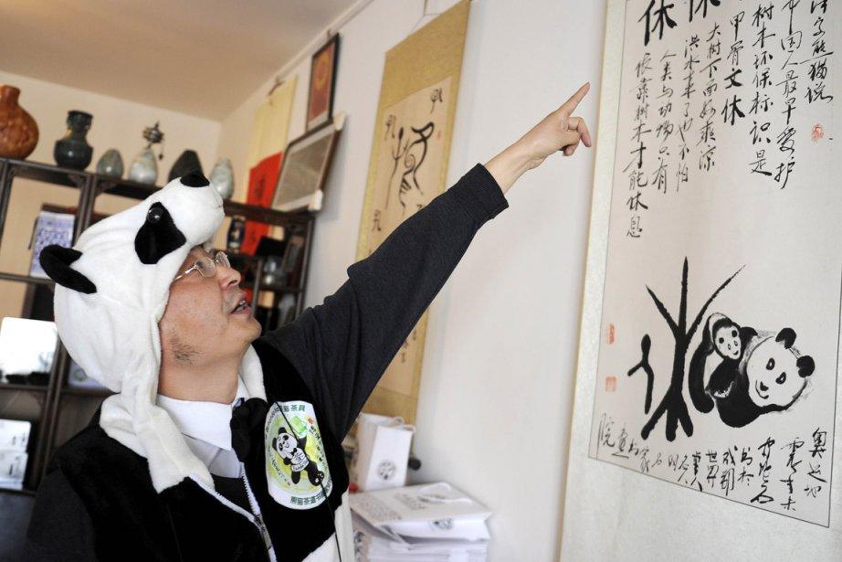 L'entrepreneur chinois An Yanshia acheté 11 tonnes d'excréments... (Photo: Liu Jin, AFP)