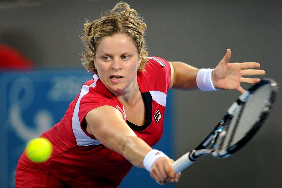Kim Clijsters... (Photo: AFP)