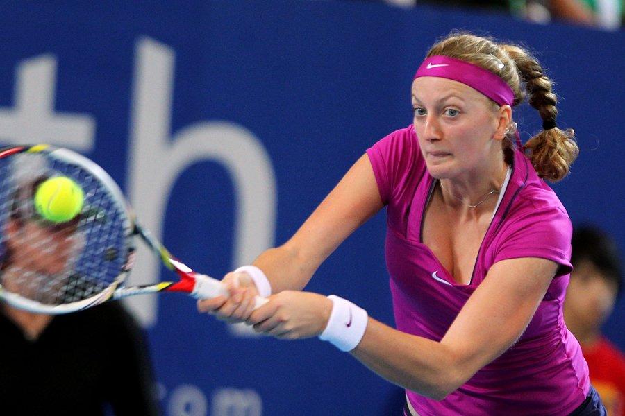 La Tchèque Petra Kvitova a vaincu la Danoise... (Photo: AFP)