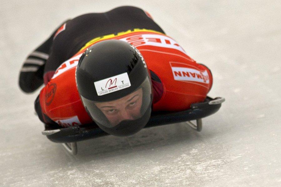 Martins Dukurs... (Photo: AFP)