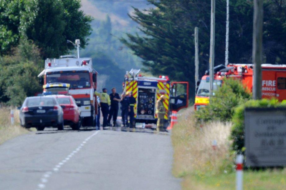 L'accident s'est produit près de Carterton, une petite... (Photo: Ross Setford, AP)